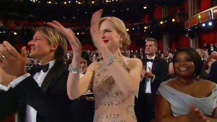 Nicole Kidman explicó su particular aplauso en los Oscar