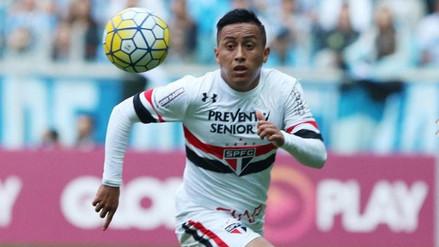 Los primeros reportes de la lesión que sufrió Christian Cueva con Sao Paulo
