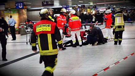 Varios heridos tras ataque con hacha en estación del tren en Dusseldorf