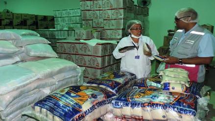 Más de 10 toneladas de alimentos fueron entregados a programa Qali Warma