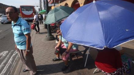 Temperatura en Lima alcanzó los 33°C este jueves, informó Senamhi