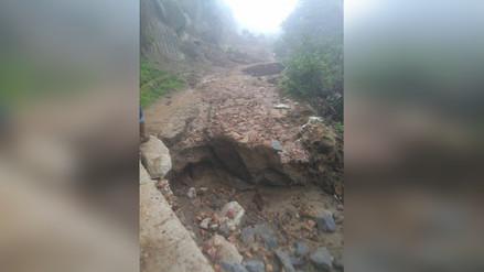 La Libertad: lluvias afectan vías en Otuzco y Virú