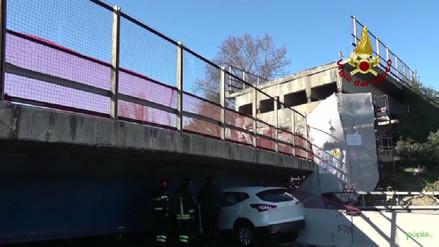 Una pareja muere tras el derrumbe de un puente en Italia