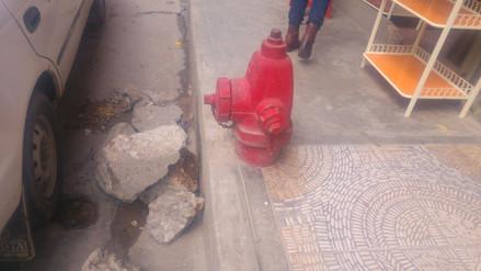 Malestar por el no funcionamiento de hidrantes en Cajamarca