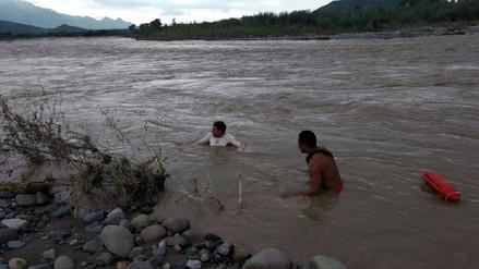 Chongoyape: joven desapareció al ser arrastrado por aguas del río Chancay