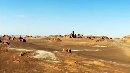 Así es el lugar más caluroso del planeta, el desierto de Lut