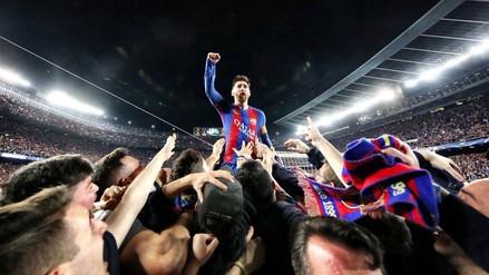 El testimonio del autor de la histórica foto de Lionel Messi en el Camp Nou