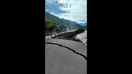 Gran Chimú: carretera a Cascas destruida por intensas lluvias