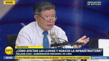 El 70% de los distritos de la región Lima están afectados por lluvias y huaicos