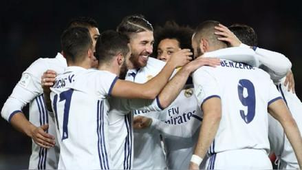 Real Madrid ganó al Betis y trepó al primer lugar de la Liga Santander