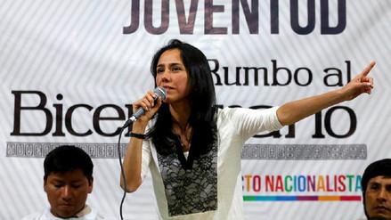 Fiscalía analiza imputación contra Nadine Heredia por aporte de Odebrecht