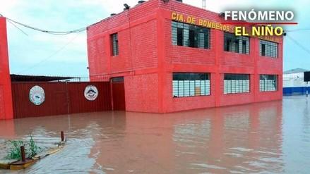 Así quedó Mala tras el desborde del río y las inundaciones