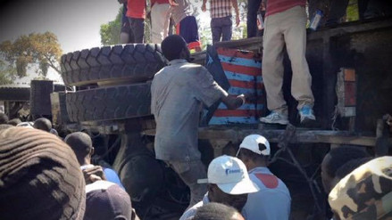 Un autobús en fuga mató a 38 personas e hirió a otras 15 en Haití
