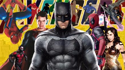 Las 40 películas de superhéroes y villanos que se estrenarán hasta 2023
