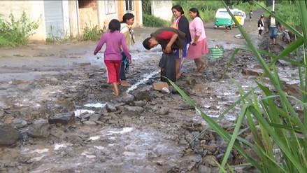 La Convención: huaicos afectaron carreteras y precarias casas