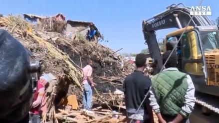 Al menos 46 muertos tras masivo deslizamiento de desechos en Etiopía