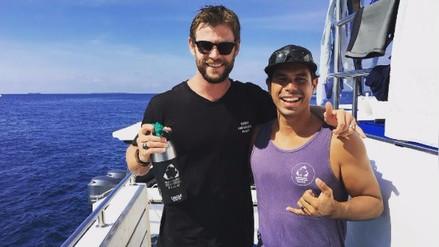 Chris Hemsworth revela su intenso entrenamiento