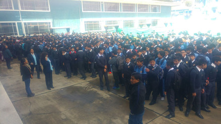 En Cajamarca más de 400 mil escolares iniciaron clases