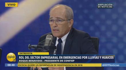 Confiep pide cancelar los Panamericanos para reconstruir el norte
