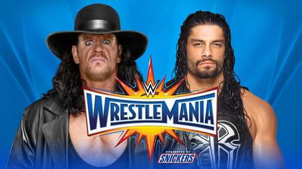 Roman Reigns enfrentará al Undertaker en el evento WrestleMania 33