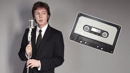 Video | Paul McCartney lanzará un cassette con demos inéditos
