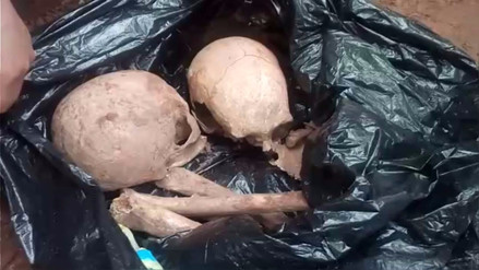 Hallan restos óseos en vivienda del antiguo barrio de Santa Ana