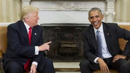 Trump retrocede en su acusación a Obama de espiar sus llamadas telefónicas