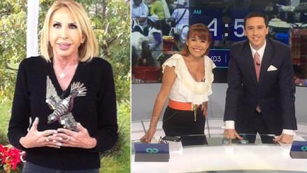 Laura Bozzo felicitó a Magaly Medina por su regreso a la TV