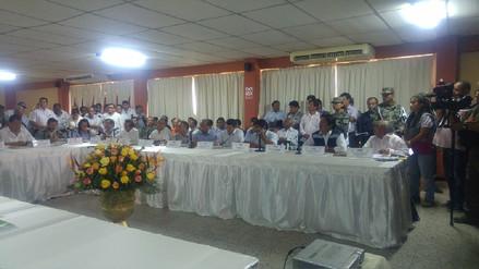 Alcaldes de Piura solicitan a ministros acciones a corto y largo plazo por lluvias