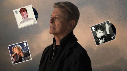 Estampillas de David Bowie fueron lanzadas al espacio