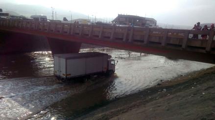 Cañete: un muerto dejó el desborde del río Chilca