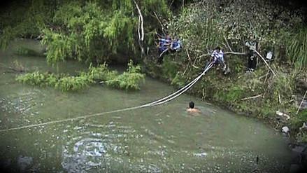 Maestra falleció tras intentar cruzar río Llaucano en su primer día de clases