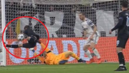 La mano del 'Maxi' Pereira que permitió el gol de Dybala para Juventus
