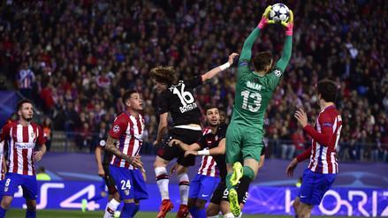 Atlético de Madrid igualó con Leverkusen y avanzó a cuartos de final