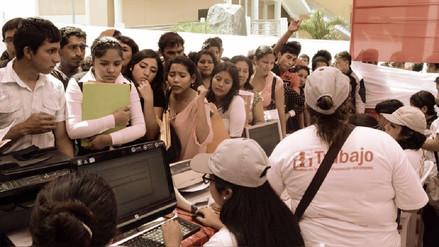 Hay 403,000 desempleados en Lima, el mayor nivel visto en cinco años
