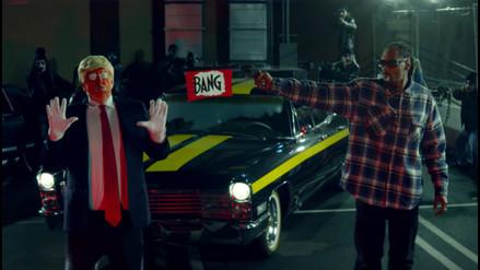 Donald Trump le responde a Snoop Dogg por 'dispararle' en su último videoclip