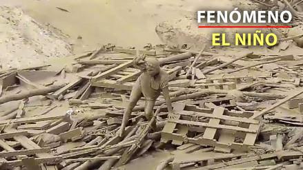 Una mujer emergió del huaico y se salvó de la muerte en Punta Hermosa