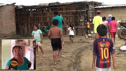 Pueblos del medio Piura en extrema pobreza piden apoyo tras lluvias