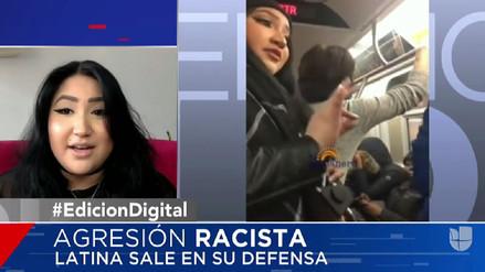 Peruana que defendió a musulmanes en metro de Nueva York habló con Univisión