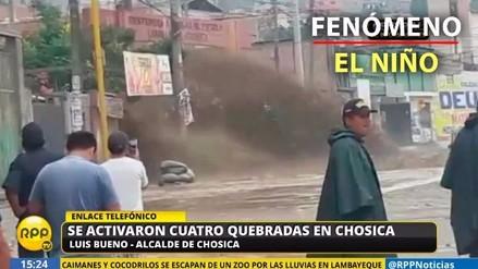 Video | Huaico cae en la zona de Nicolás de Piérola en Chosica