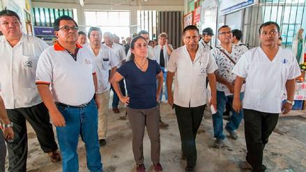 La ministra de Salud quedó atrapada por huaico en Chosica