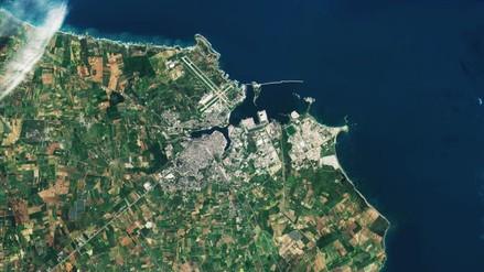 Estas son las primeras imágenes enviadas por el satélite Sentinel-2B