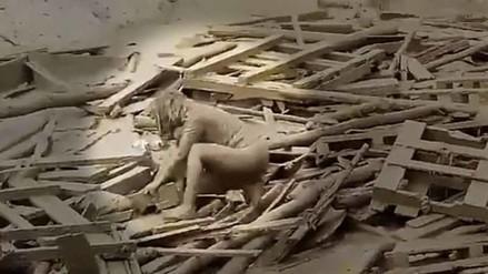 Evangelina Chamorro, la mujer que sobrevivió al huaico sin ninguna fractura