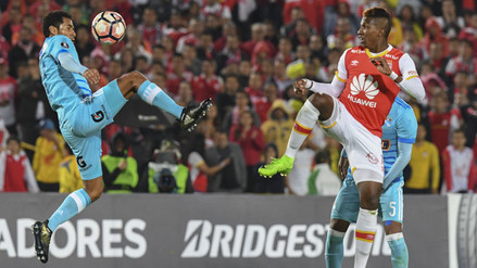 Sporting Cristal perdió 3-0 con Santa Fe y es colero en su grupo de Libertadores