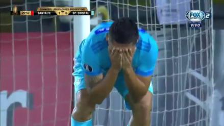 El increíble gol que se falló Joel Sánchez ante Santa Fe por Copa