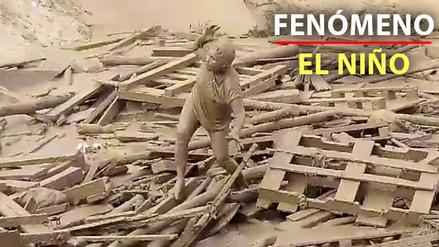 ¿Cómo llegó a ser arrastrada Evangelina por el huaico en Punta Hermosa?