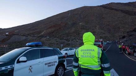 Rescatan a 270 personas del pico más alto de España