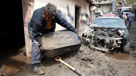 Cien casas colapsaron en Chosica tras el paso de un nuevo huaico