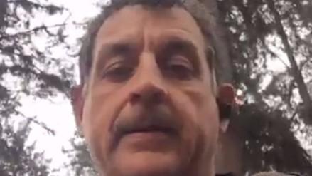 Video | Sergio Galliani fue uno de los afectados por desborde de río