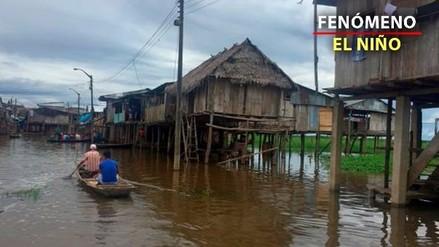 Río Amazonas en peligro de desborde en Loreto